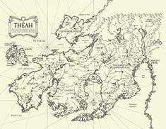 The in-game map of Théah from Sea Second Edition. Fantasy City, World Of Fantasy, Fantasy Map, Imaginary Maps, Rpg World, Rpg Map, Alternate History, Old Maps, Sea Monsters