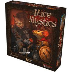 Caixa do jogo de tabuleiro Mice and Mystics