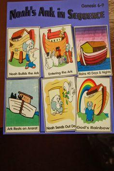 Hands On Bible Teacher: Noah Builds the Ark