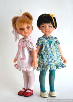 Здравствуйте дамы! А я опять, на этот раз не только платьица, но и хочу показать свежепостриженную Лиу, с новыми бровями