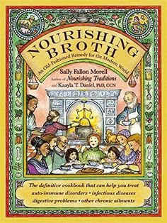 The follow-up book to the hugely best-selling Nourishing Traditions, which has sold over 500,000 copies, this time focusing on the immense health benefits Nourishing Broth: An Old-Fashioned Remedy for the Modern World
