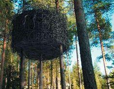 Harads Tree Hotel: le luxe d'une cabane dans les arbres en Suède - Paperblog