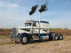 1987 Peterbilt Truck, Classic 359, #345: This is my 1987, Classic 359, #345 Peterbilt, powered by 444 Cummins, 13 speed. The style of the truck is 'old school'. I've been a licensed truck