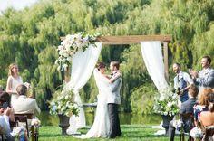 California Rustic Barn Wedding by Claire Mulkey Photography - Melissa Hearts Weddings