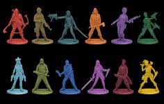 Rue Morgue survivors miniatures