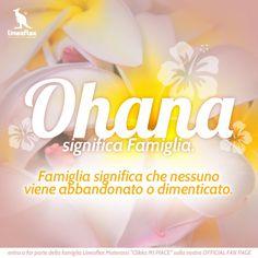 #OHANA significa Famiglia. Famiglia significa che nessuno viene abbandonato o dimenticato. #famiglia #lineaflex #materassi #madeinitaly #italy #shop #ohana #OHANA #qualità #sicurezza #comfort