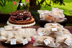 This is a post about a picnic birthday party, but it gives you great ideas on how to host any type of picnic party.  Via aestheticnest.com
