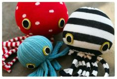 How to Make Sock Dolls! - Socktopus Edition