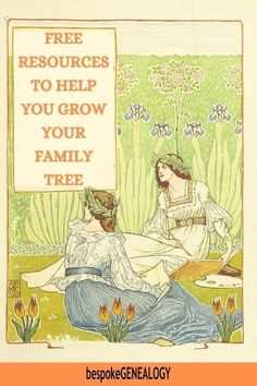 Free Resources to help you grow your Family Tree. A selection of articles linking to free genealogy research tools and resources. #bespokegenealogy #genealogy #familytree Walter Crane, Art Nouveau, Inspiration Art, Art Inspo, English Artists, Children's Book Illustration, Book Illustrations, Arts And Crafts Movement, Old English