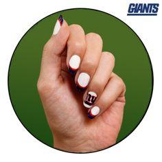 NFL Fanicure - NY Giants