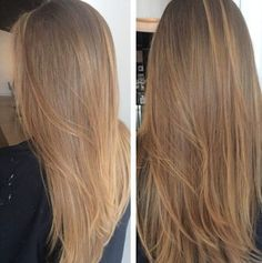 Are you going to balayage hair for the first time and know nothing about this technique? Or already have it and want to try its new type? We've gathered everything you need to know about balayage, check! Ombre Hair Color, Hair Color Balayage, Cool Hair Color, Brown Hair Colors, Balayage Highlights, Short Balayage, Balayage Brunette, Trendy Hair Colors, Trendy Nails