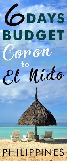 Budget Itinerary for Coron to El Nido Palawan tour Philippines Vacation, Philippines Beaches, Manila Philippines, Palawan Tour, El Nido Palawan, Exotic Beaches, Tropical Beaches, Vacation Trips, Vacation Spots