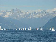 Léman Lake, Lausanne, Switzerland