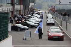 Over eighty Aston Martins in one place! Pictures and on-board video of the Aston Martin Big 5 track day at Spa.    http://www.aston-martin.com/2012/09/20/aston-martin-big-5-spa-francorchamps/
