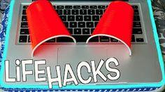 10 Weird Life Hacks EVERYONE Needs To Know   Nichole Jacklyne - YouTube