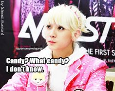 Ren. Candy? Don't know!!