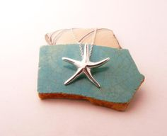 starfish necklace by blue dot jewelry.