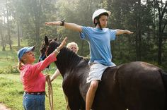 Equine Therapy and Riding Program on the Youth Villages Inner Harbour Campus
