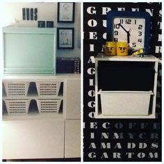 Ooo perfect match.  Tällaiselle säilytyslaatikoiden ystävälle onnenhetki on se kun yksi laatikko sopii sattumalta täydellisesti toisen sisään  Match no 1: Ikea  basic baskets Match no 2: Ikea  Clas Ohlson boxes #interior #cleaning #organizing #järjestelyä #myhome  #homedetails #omakoti #koti #inredning #ordning #interiors #ikea #shelves #sisustus #sisustusinspiraatio