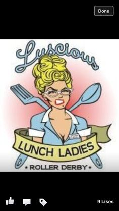 Home team lunch ladies.  A Shout Out to my Rowdy Ridge Girls!