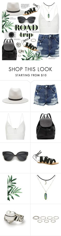 """Rev It Up: Road Trip Style"" by julijana-k ❤ liked on Polyvore featuring rag & bone, Topshop, Narciso Rodriguez, Witchery, Nikon, Billabong, Akira and roadtrip"