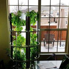 Grow Vegetables, Fruits & Herbs   Aeroponic Tower Garden Vertical Garden