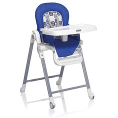 The Inglesina Gusto Highchair is designed to open and close effortlessly for your convenience. www.rightstart.com