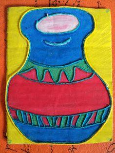 Plástica, arte en la escuela.: 12 de Octubre, Día del respeto a la diversidad cultural Country Crafts, 4 Kids, 3 D, Teaching, School, Creative, Blog, Ideas, Toddler Activities