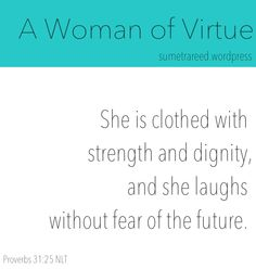 A Woman of Virtue