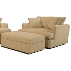 DM Stacy oversized chair and ottoman - Google Search