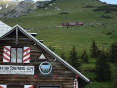 Schafberg train in Austria Happy Pics, Happy Pictures, Austria, Notes, Train, Spaces, Strollers, Trains