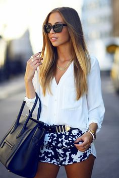 Spring fashion. Love this outfit.