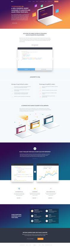 JQL Landing Page Design