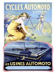 gorgeous vintage art posters, prints, ads   ... Posters : Vintage Transportation Posters : Vintage Bicycle Ad Prints