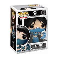 Foto 1 - Pop Kitana 253 - Mortal Kombat X - Funko Mortal Kombat X, Funko Pop, Milena, Cover Photos, Princesses, Manualidades