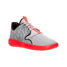 Nike Men's Air Jordan Eclipse Off Court Shoes ($49) ❤ liked on Polyvore featuring men's fashion, men's shoes, men's athletic shoes, mens athletic shoes, mens red athletic shoes, mens shoes, mens lightweight running shoes and mens leopard print shoes