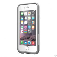 The White/Gray iPhone 6 LifeProof frē WaterProof Case It's on sale at lifeproof.com!!