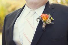Rustic Handmade California Wedding  via TheELD.com