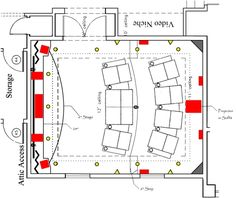 Room Layout Design home theater seating layout plan, basement home theater plans