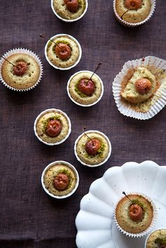 rainier cherry and pumpkin seed butter financiers | Flickr – Condivisione di foto!