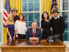 Facebook/Shemane NugentSarah Palin, the former Alaska governor and Republican vice presidential nominee, visited President Donald Trump at the White House on Wednesday night, and brought musicians Ted Nugent and Kid Rock with her. The group, w http://aspost.com/post/Sarah-Palin,-Ted-Nugent,-and-Kid-Rock-visit-Trump-at-the-White-House/21650 #politics #politic #politicians #news #political http://aspost.com/post/Sarah-Palin,-Ted-Nugent,-and-Kid-Rock-visit-Trump-at-the-White-House/21650