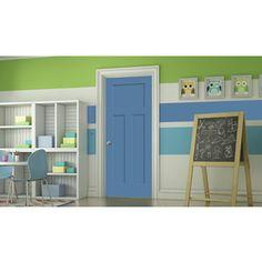 Jeld-Wen Blue Heron Prehung Solid Core 3-Panel Craftsman Interior Door