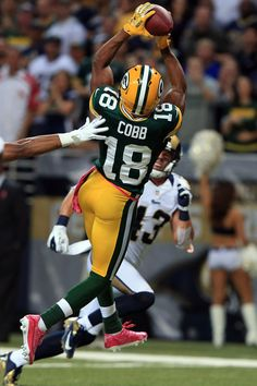 Randall Cobb, the man with the most beautiful blue eyes in the entire NFL.