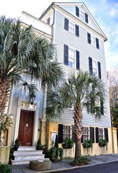 Gervais House (1835), 29 Legare St., Charleston, South Carolina
