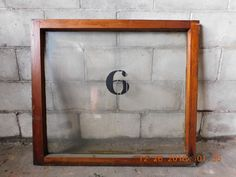 Antique Interior Transom Window - C. 1885 Butternut Architectural Salvage