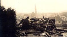 Ein blutiger Fasching: Die Kämpfe des Februars 1934 - Stellungen des Republikanischen Schutzbundes auf der Ennsleite. Mehr dazu hier: http://www.nachrichten.at/nachrichten/150jahre/tagespost/Ein-blutiger-Fasching-Die-Kaempfe-des-Februars-1934;art171761,1645566 (Bild: Them)