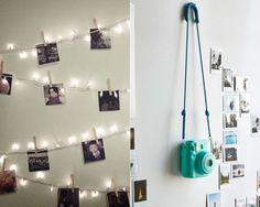 Decore seu quarto com fotos!