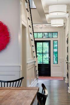 How to Make Black Interior Doors Work for You | Hale navy, Benjamin ...