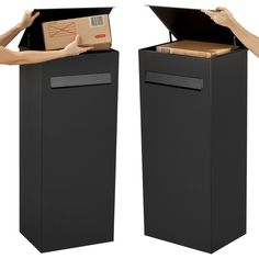 pakket brievenbus zelfde systeem als eSafe fenix top Dream House Interior, Home Interior Design, Parcel Box, Post Box, House Numbers, Scandinavian Interior, Curb Appeal, Home And Garden, Mailbox Designs