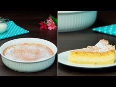 Prăjitura magică, poate fi preparata chiar și de către copii, recomandăm! - YouTube No Cook Desserts, Family Meals, Vanilla Cake, Food And Drink, Menu, Yummy Food, Chocolate, Cooking, Recipes